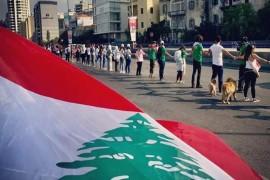 لبنان يشبك الأيدي من الجنوب الى الشمال لإسقاط النظام
