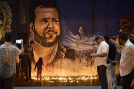 وجه علاء أبو فخر حيّاً في فضاء طرابلس