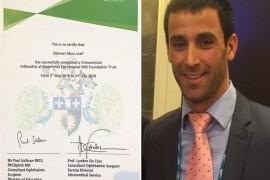 خريج الجامعة اللبنانية نال أعلى لقب في طب العيون في العالم