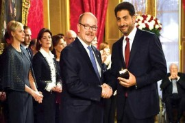 ارفع وسام في موناكو لقنصل لبنان مصطفى سميح الصلح