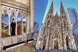تدشين مزار للقديس شربل في أهم كاتدرائيات نيويورك